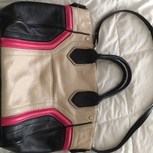 Tri- color handbag from Nordstrom